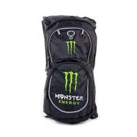 Моторюкзак Монстр с гидратором, черно-зеленый